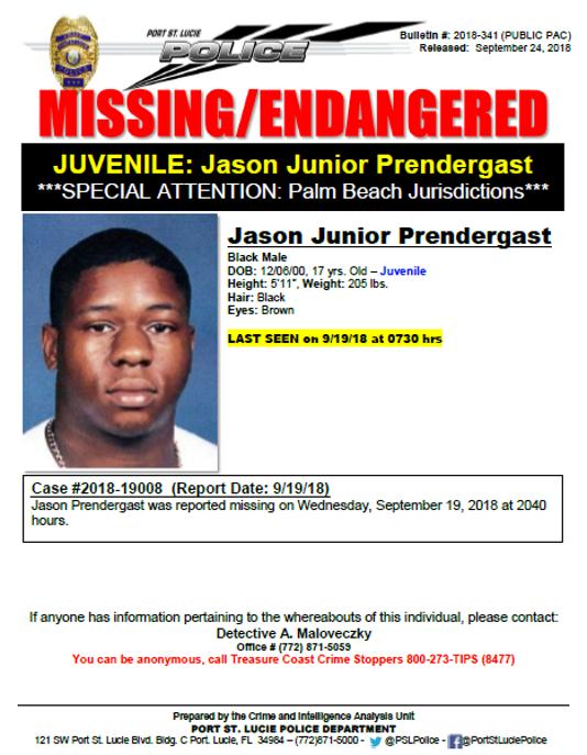 Psl Missing Teen
