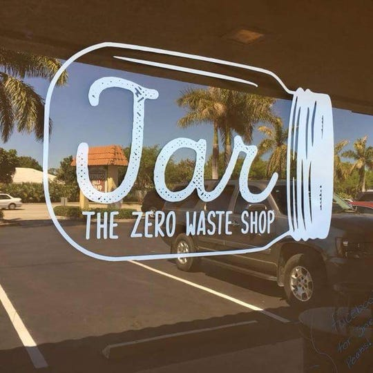 Bamboo straws and homemade organic and vegan treats are among the items sold at JAR in Stuart.