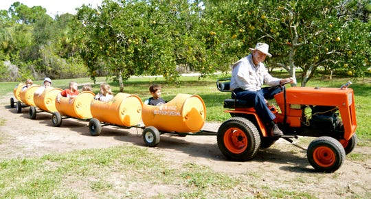 The Kiddie Train Rides are always a hit with the youngsters and are included in the price of admission.
