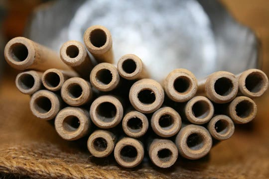 Bamboo straws are an alternative to plastic.