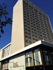 The 18-story One San Jacinto Plaza office building formerly was known as the Chase Tower. It's located at 201 E. Main St., in Downtown El Paso.