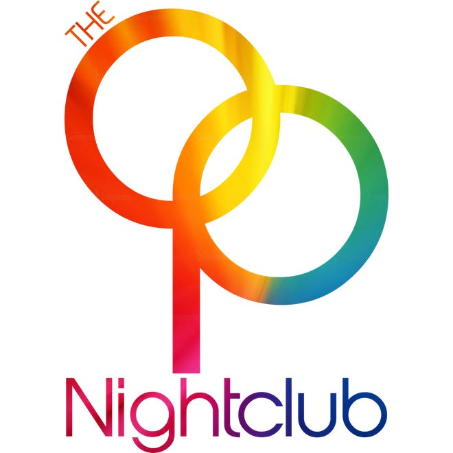 The logo for the new OP Nightclub, which just opened. The Old Plantation, and later New Old Plantation, was a popular club for gay community in the late 90s.