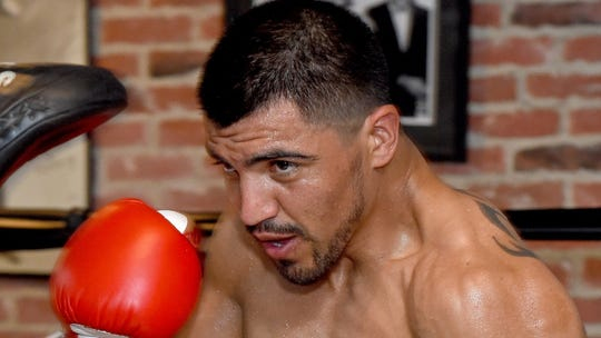 Former boxing champion Victor Ortiz arrested, accused of rape days before bout