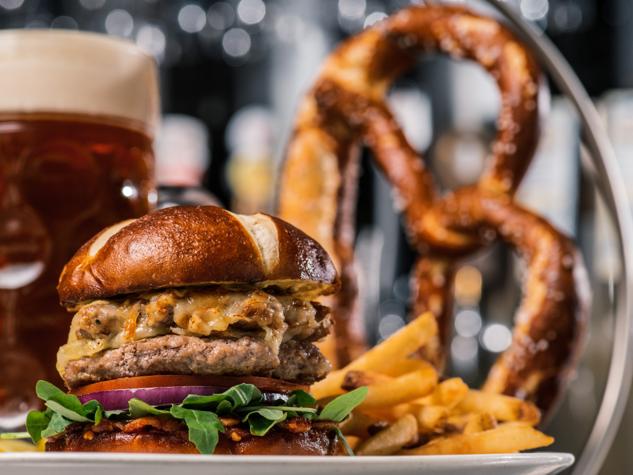 """It's October and you know what that means to Germans and German beer lovers everywhere, right? Yard House kicked off its five-week Oktoberfest celebration on Monday, boasting that it offers the """"world's largest selection of draft beer."""""""