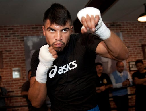 Victor Ortiz fight against John Molina has been canceled