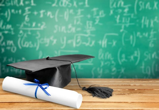 Mortar Board Graduation Certificate