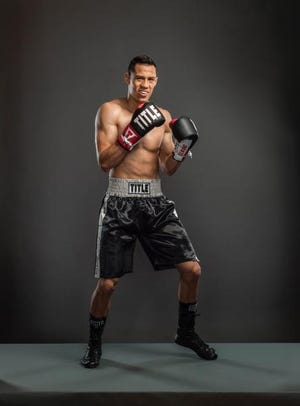 """Tulare resident Daniel """"El Chapulin"""" Valdivi is competing on the TV reality show """"The Contender."""""""