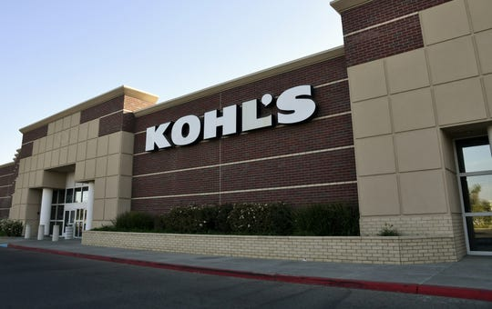 Kohl's department store, located on Mooney Boulevard in Visalia.
