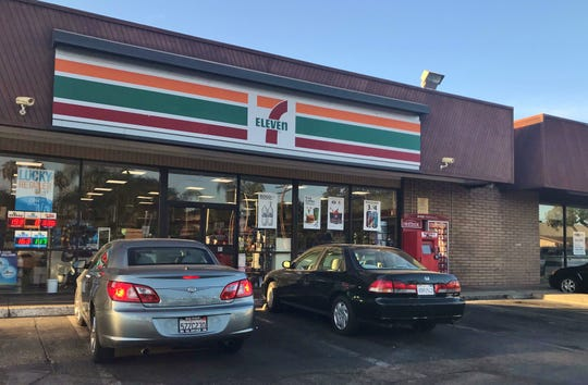 Visalia officers were called to reports of shots fired at 7-Eleven, located at 111 W. Walnut Ave, on Sunday, February 23, 2020.