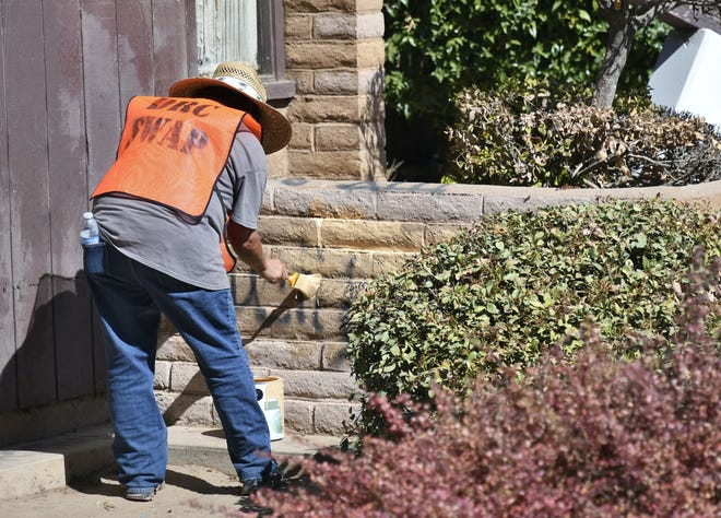 While on patrol in Orosi, Tulare County deputy Monserrat Meza spotted graffiti on a local church. She sprang into action and organized a clean up within hours of the discovery.