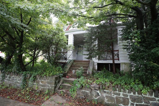 This home at 140 Sweetfield Circle in Yonkers, pictured Sept. 26, 2018, cost the city $7,241.75 to clean up this neglected property.