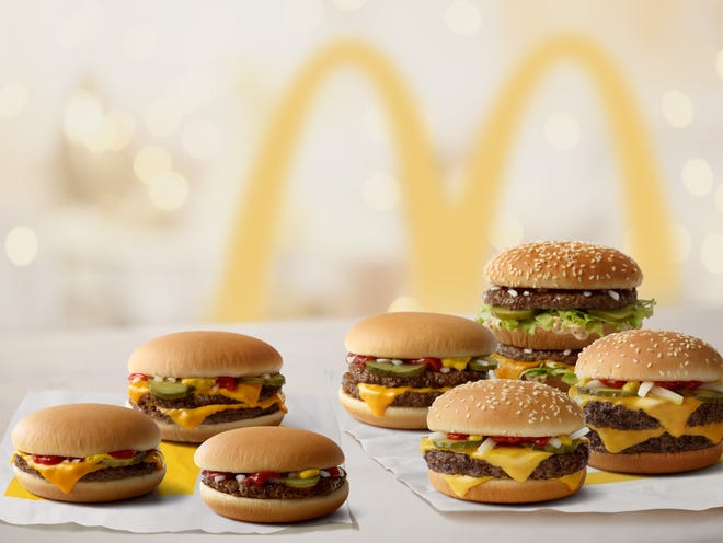 McDonald's is changing the ingredients in its burgers
