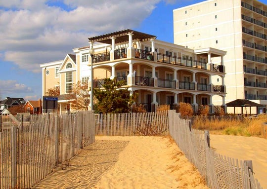 For $4,400,000 you can get a condominium with four bedrooms and 4.5 bathrooms at 319 S. Boardwalk Unit 2 in Rehoboth Beach.