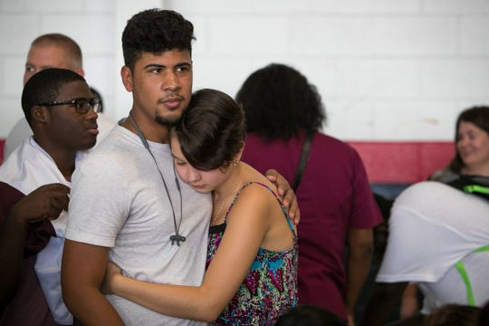 "Angel Castro, who was a senior at the Delaware Academy of Public Safety and Security, said ""Coming into the school year everything seemed like it was going to be fine."" Now that the school is closed for good, ""it's like a dream,"" he said."