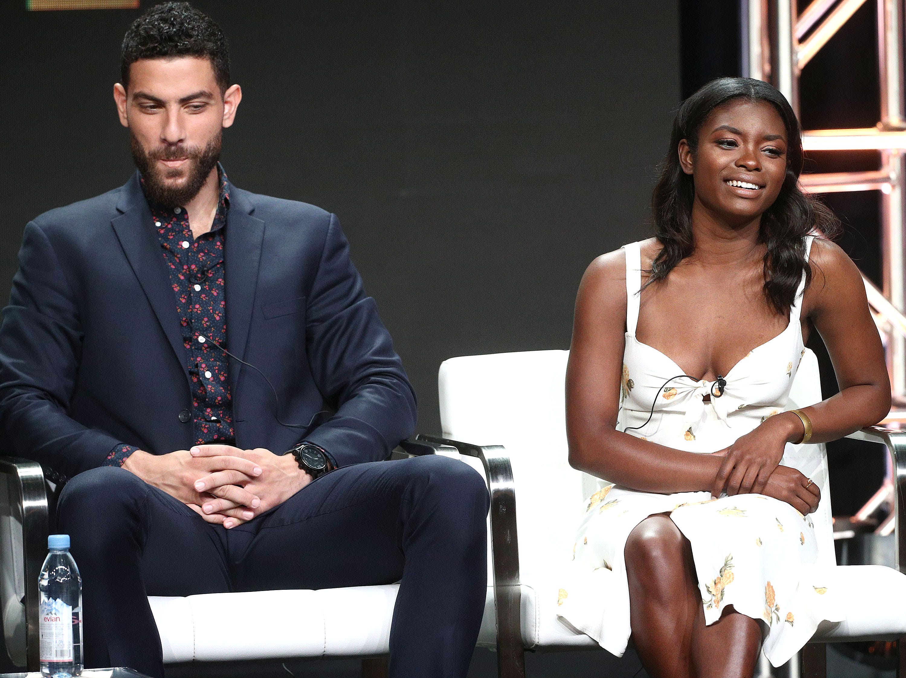 """Zeeko Zaki, left, who grew up in Unionville, but spent a lot of time in Delaware, is one of the lead stars in Dick Wolf's new television series, """"F.B.I."""""""