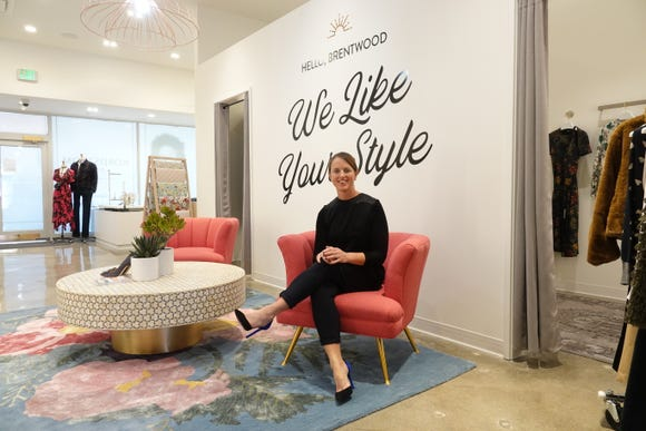 Shea Jensen, senior vice president of customer experiences, inside a new Local store in Los Angeles