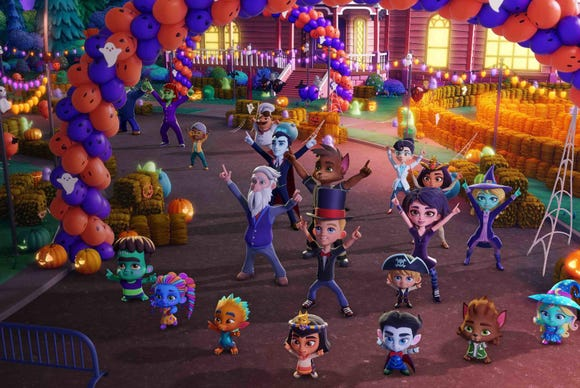 """""""Super Monsters Save Halloween"""" is available for streaming on Netflix on Oct. 4."""