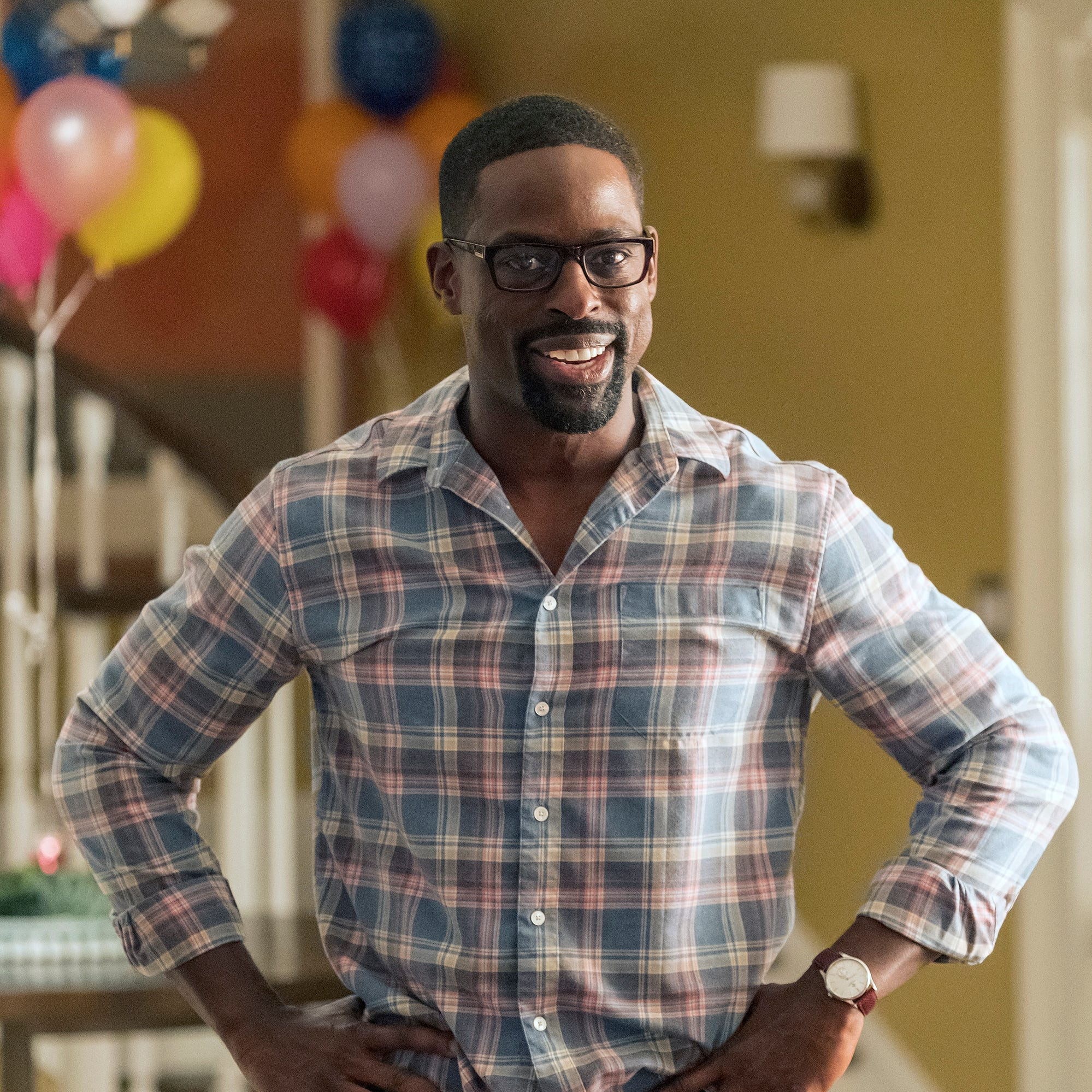 "Sterling K. Brown as Randall on ""This Is Us."""