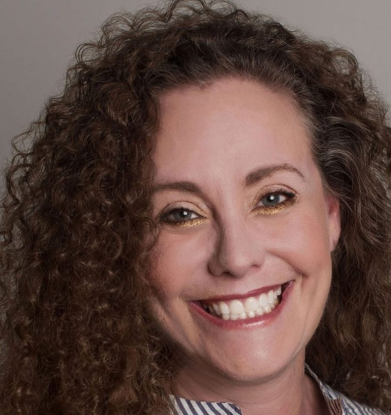 """Photo released by lawyer Michael Avenatti with an image of Julie Swetnick who has submitted allegations about Mark Judge and Brett Kavanaugh.    Tweet from @MichaelAvenatti  """"Here is a picture of my client Julie Swetnick. She is courageous, brave and honest. We ask that her privacy and that of her family be respected."""""""