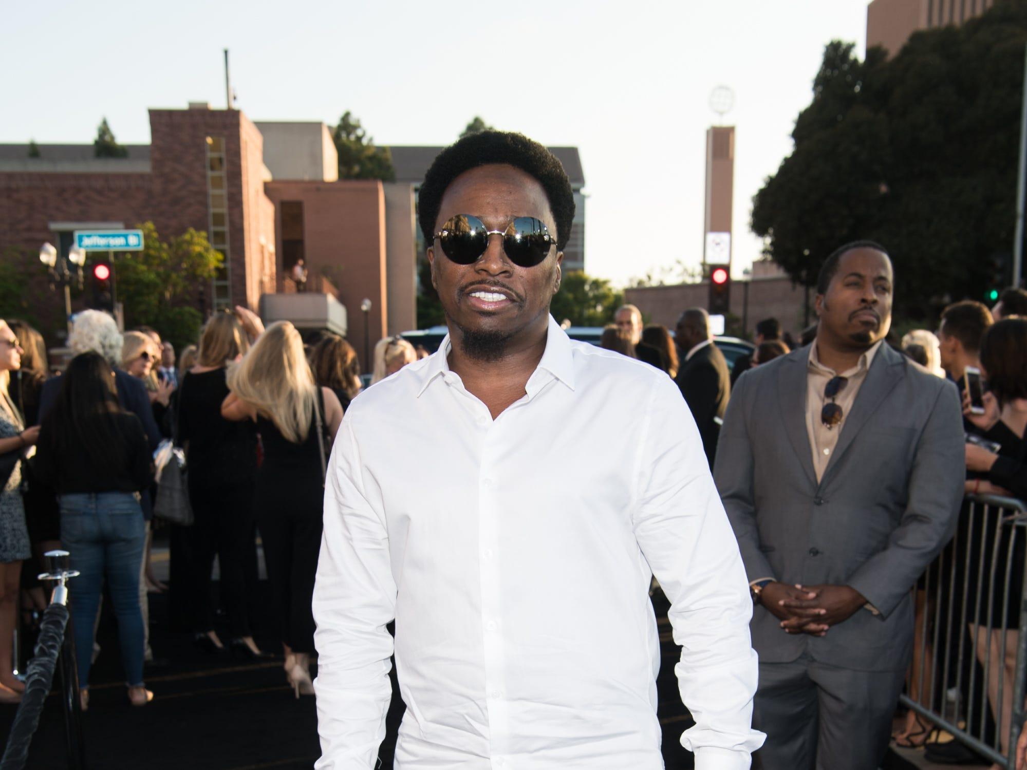 "LOS ANGELES, CA - SEPTEMBER 24:  Eddie Griffin attends the premiere of Warner Bros. Pictures' ""A Star Is Born"" at The Shrine Auditorium on September 24, 2018 in Los Angeles, California.  (Photo by Emma McIntyre/Getty Images) ORG XMIT: 775229471 ORIG FILE ID: 1039801350"