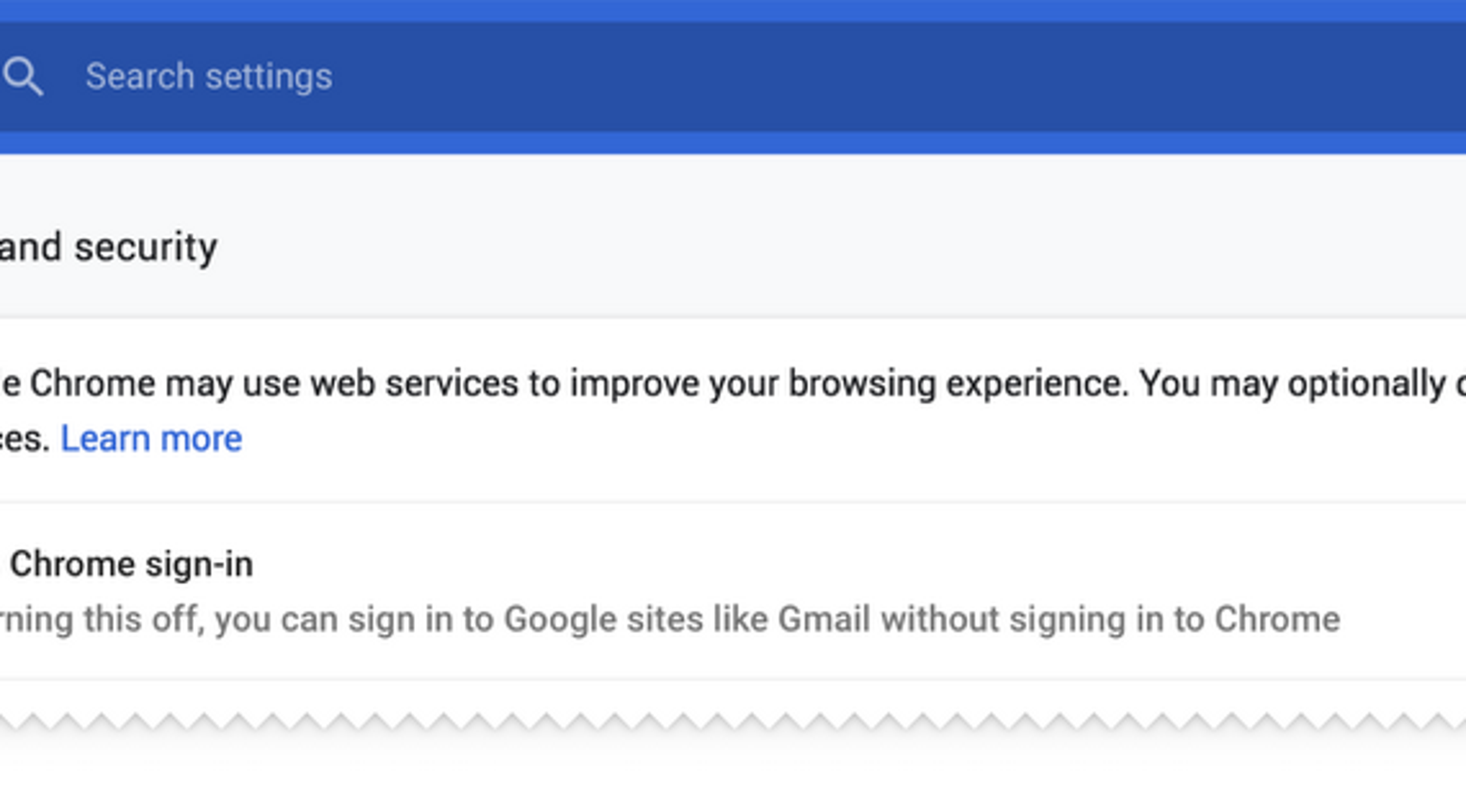Google's Chrome changes: Why you should look at browser-sync options
