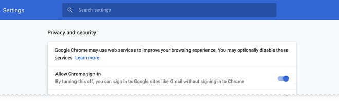 Google plans to give users more control about the way you do or don't log into the Chrome browser.