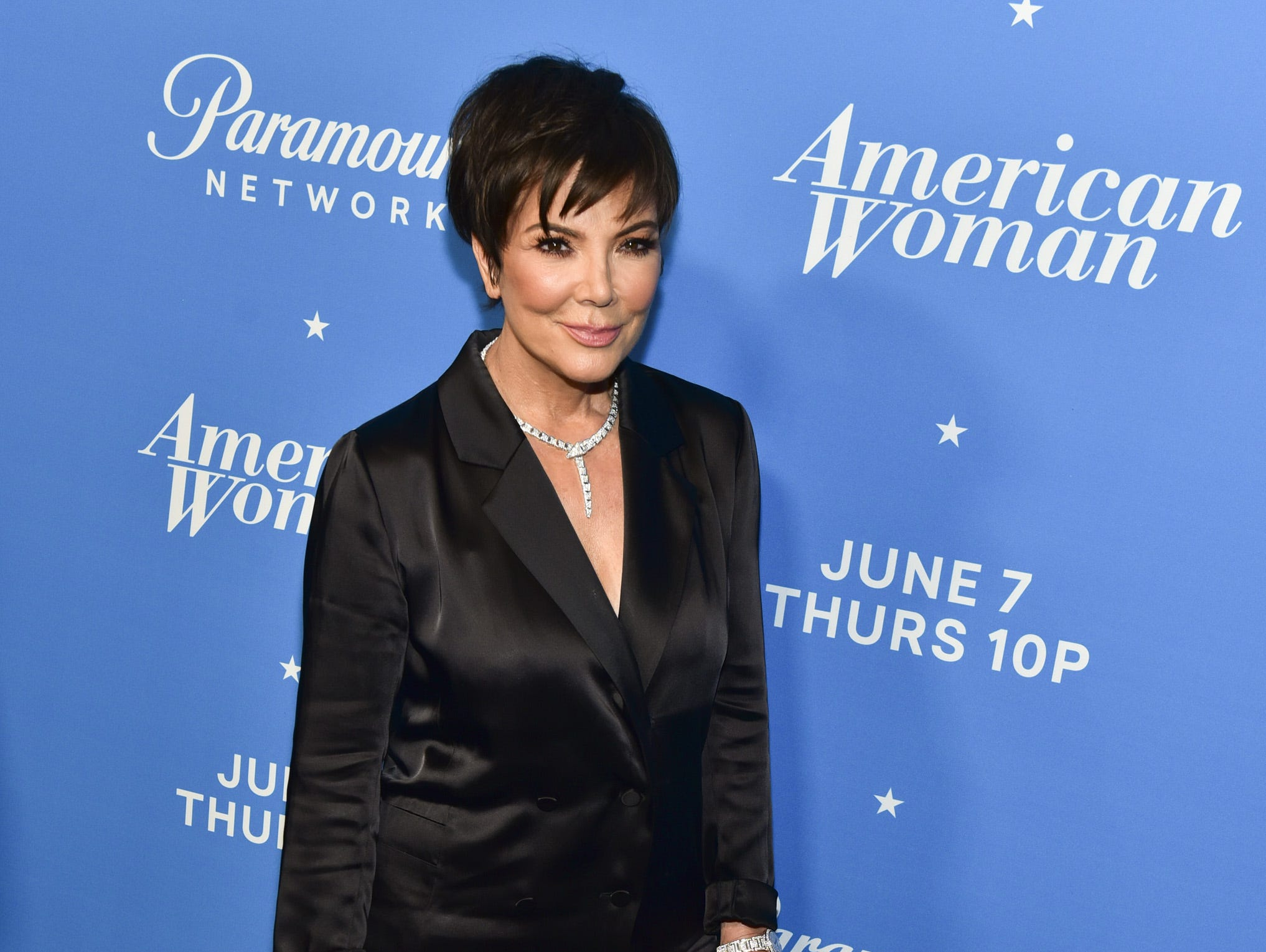 "LOS ANGELES, CA - MAY 31:  Kris Jenner attends the premiere of Paramount Network's ""American Woman"" at Chateau Marmont on May 31, 2018 in Los Angeles, California.  (Photo by Rodin Eckenroth/WireImage) ORG XMIT: 775169156 ORIG FILE ID: 964679056"