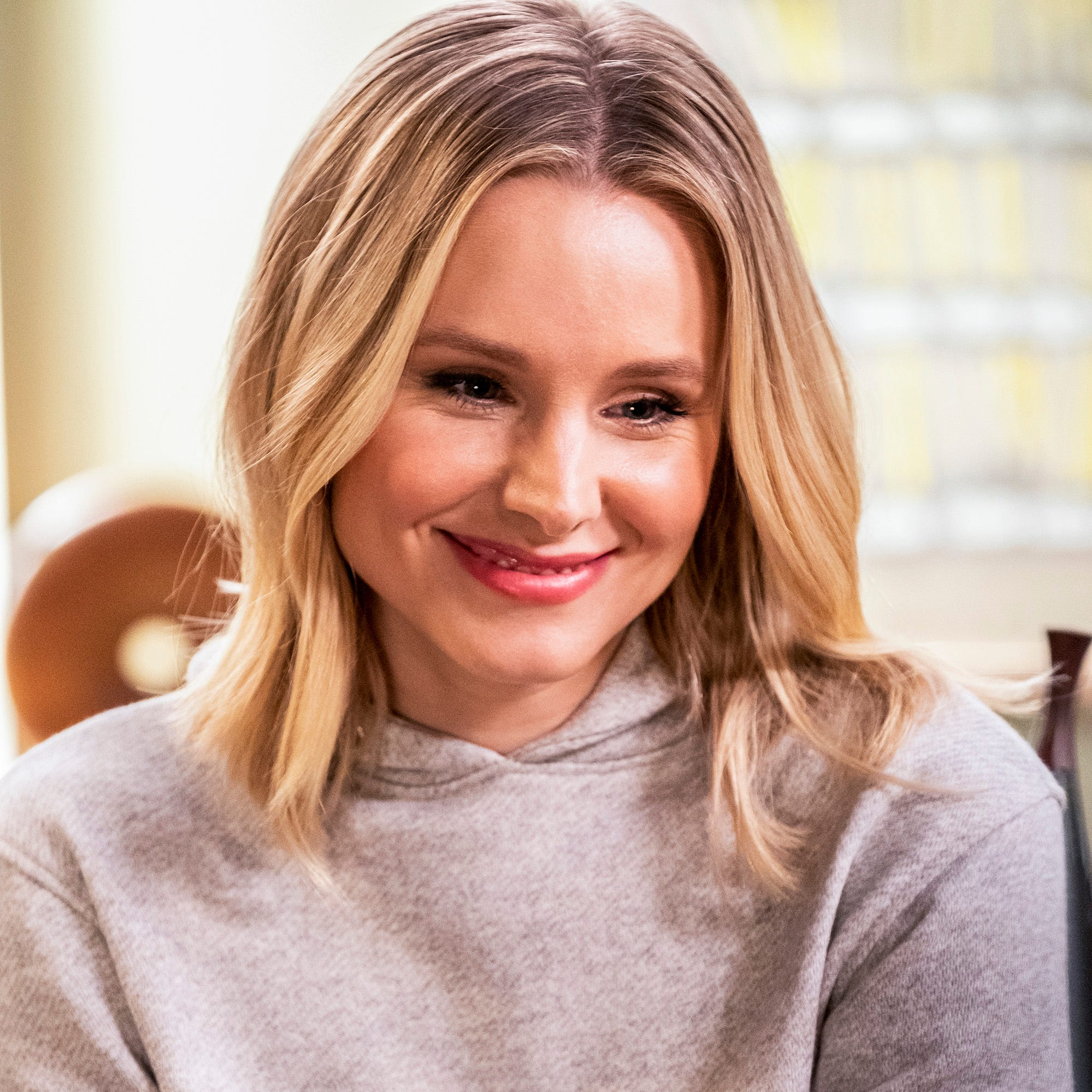 """The Good Place,"" starring Kristen Bell."