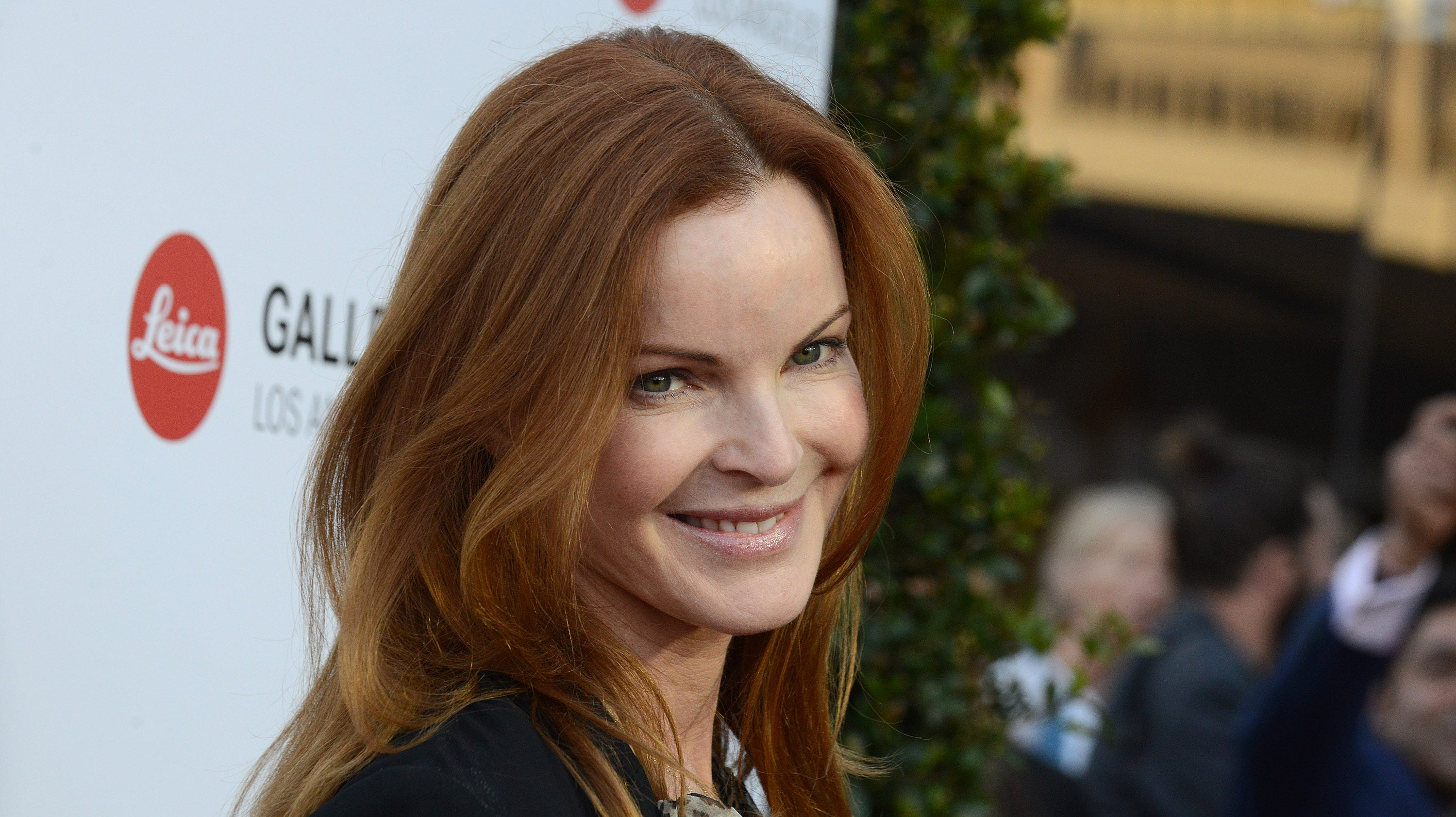 'Desperate Housewives' Marcia Cross 'happy' after fighting anal cancer