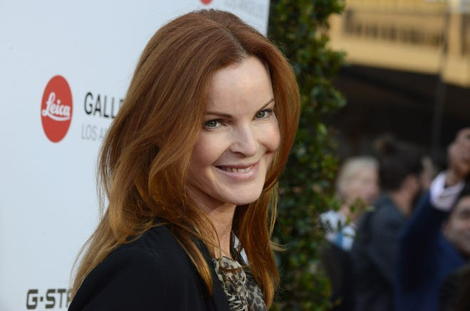 IMAGE DISTRIBUTED FOR LEICA - Marcia Cross arrives at the Leica Store Los Angeles Grand Opening on Thursday, June 20, 2013 in Los Angeles. (Photo by Jordan Strauss/Invision for Leica/AP Images) ORG XMIT: INVL