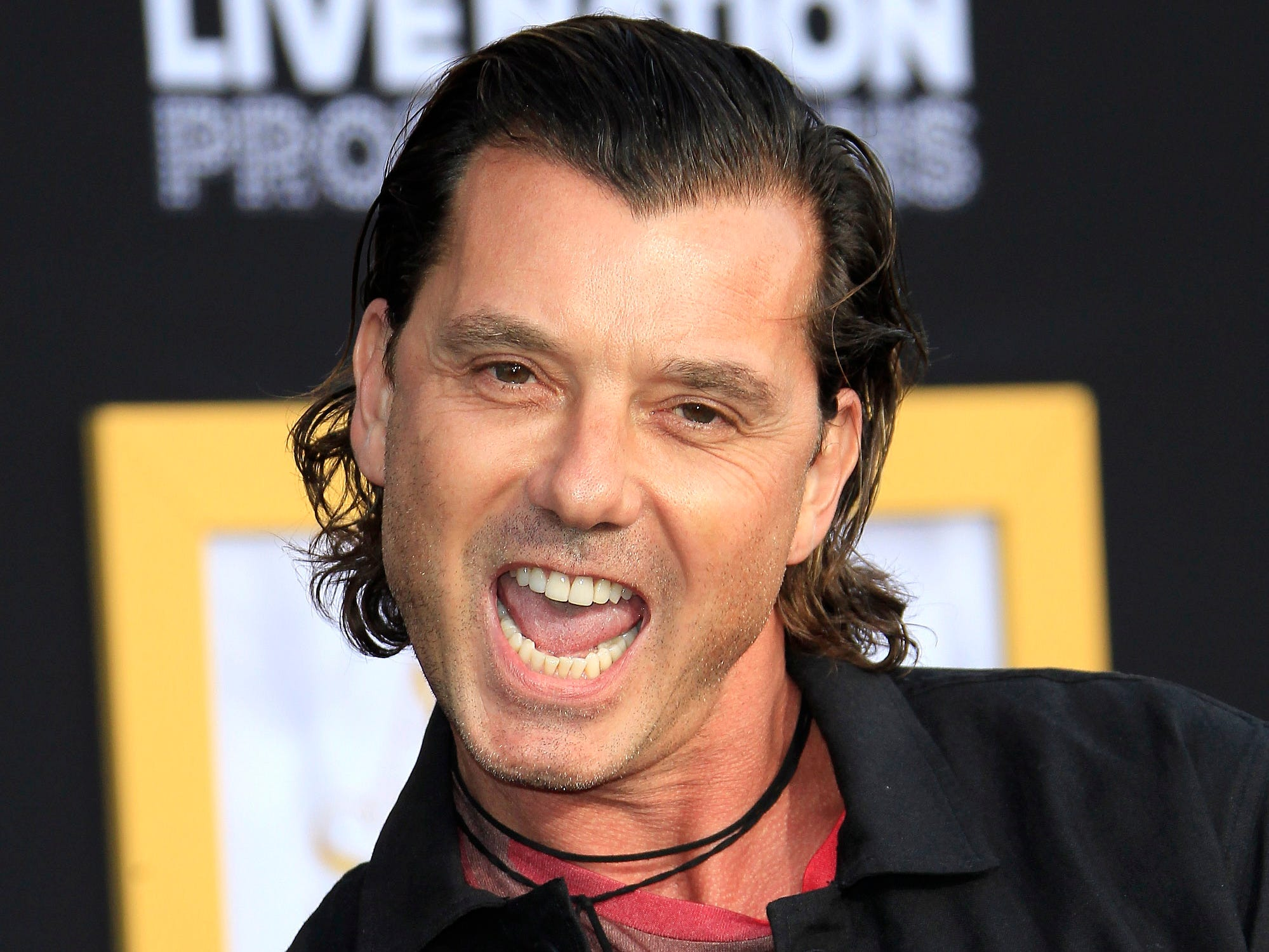 epa07044897 US singer Gavin Rossdale arrives at the premiere of the film 'A Star Is Born' at the Shrine Auditorium in Los Angeles, California, USA, 24 September 2018. The movie opens in the US on 05 October 2018.  EPA-EFE/NINA PROMMER ORG XMIT: NPX01