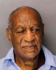 The Pennsylvania Department of Corrections mug shot shows Bill Cosby after he was sentenced to three-to 10-years for sexual assault.