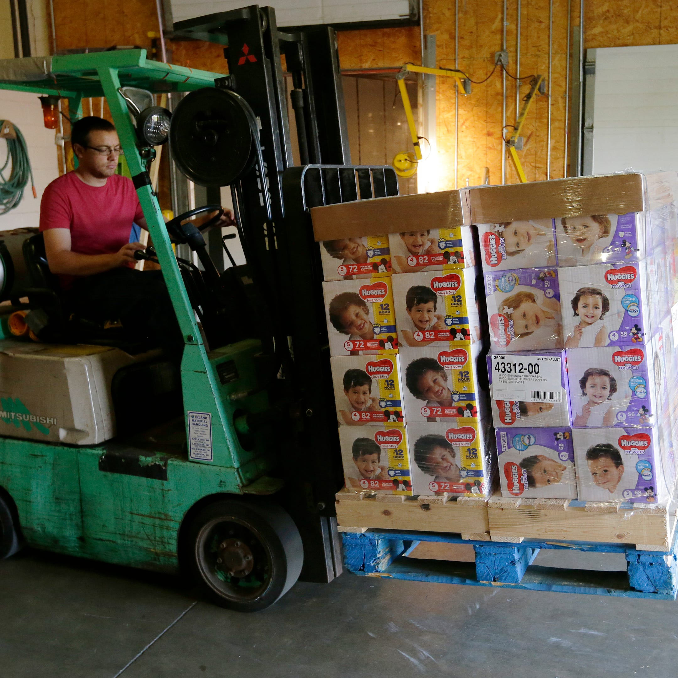 Support the Fox Cities Diaper Bank, give to Donations for Diapers