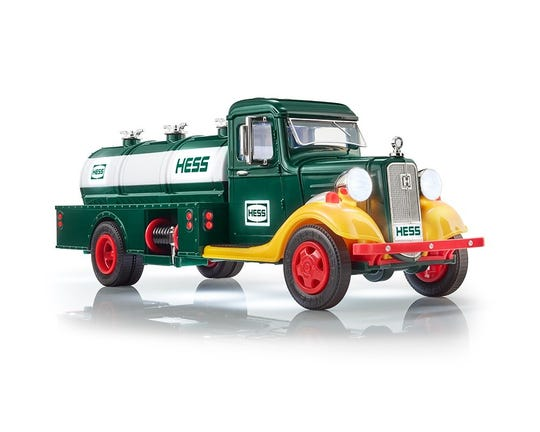Hess has released this truck as a limited edition toy for October 2018.