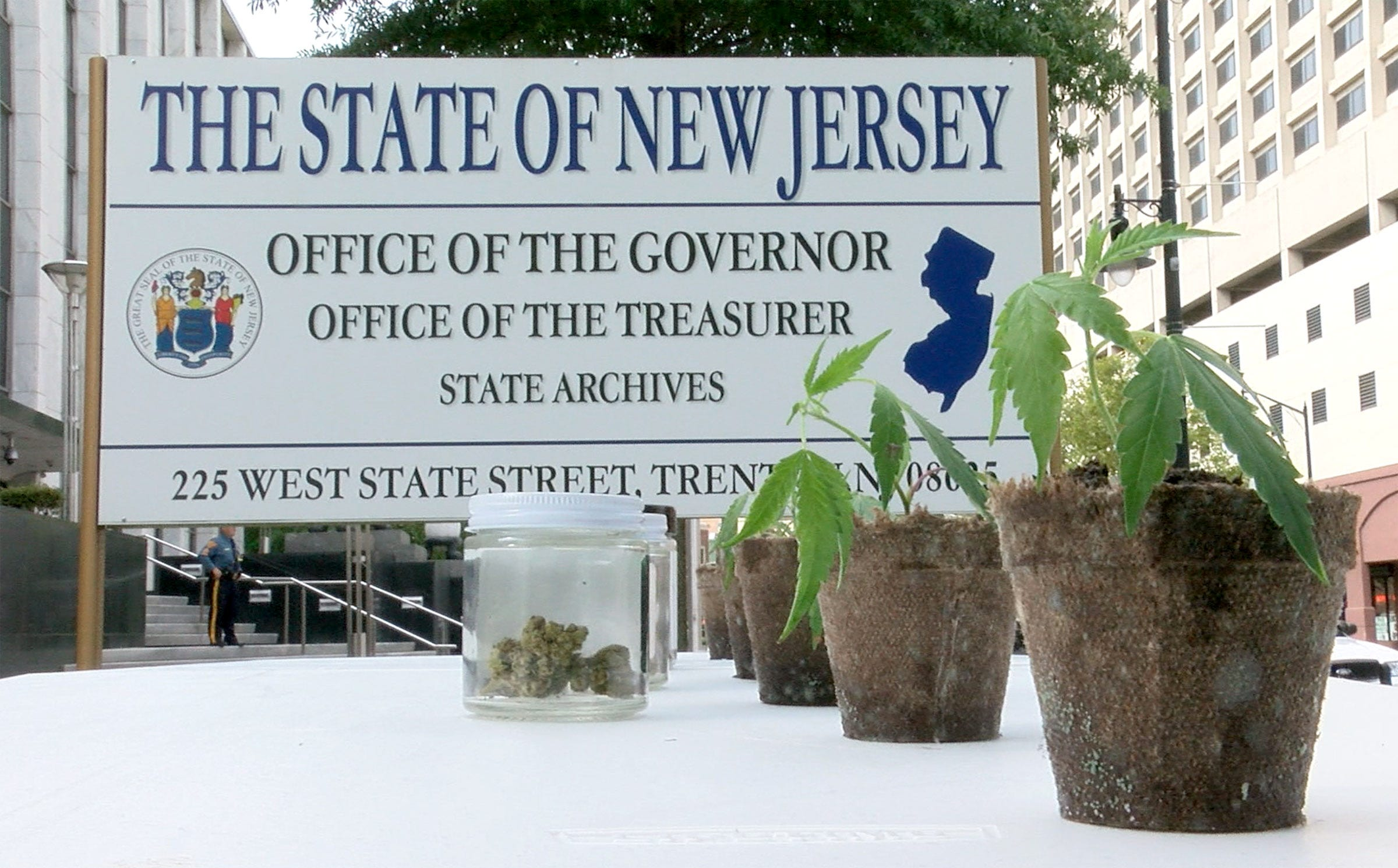 A new beginning : New Jersey becomes 13th state to legalize recreational marijuana, dismissing  broken, indefensible  laws