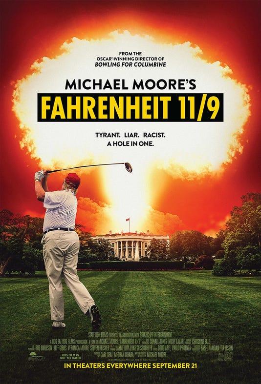 Fahrenheit Eleven Nine Poster