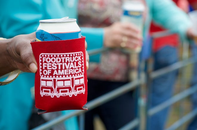 Grab your Koozies. It's almost time for Food Truck Festivals of America to roam through Asheville.