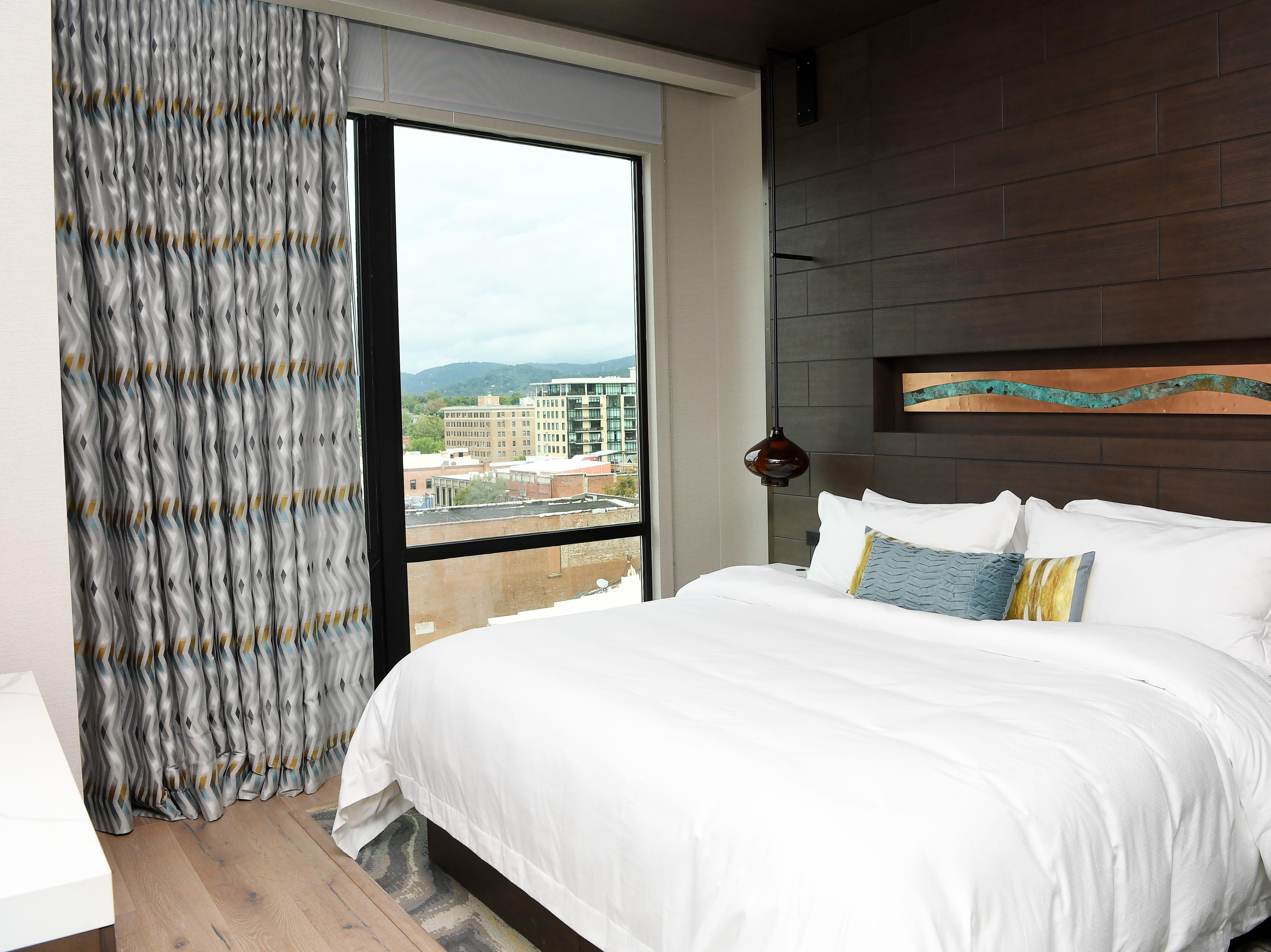A suite inside Hotel Arras Sept. 27, 2018.