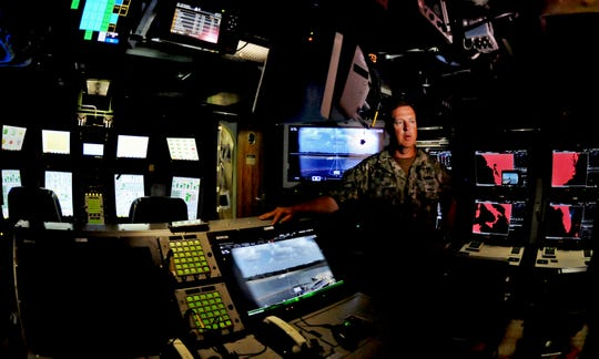 Cmdr. Jesse Kimbauer is the commanding officer. A tour of the USS Indiana (SSN 789), the newest Virginia-class attack submarine which is the most modern and sophisticated in the world, and will be commissioned at the Navy port at Cape Canaveral Air Force Station on Sept. 29.
