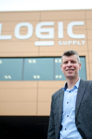 Roland Groeneveld, global CEO of Logic Supply, worries that tariffs imposed on China will hurt his business.
