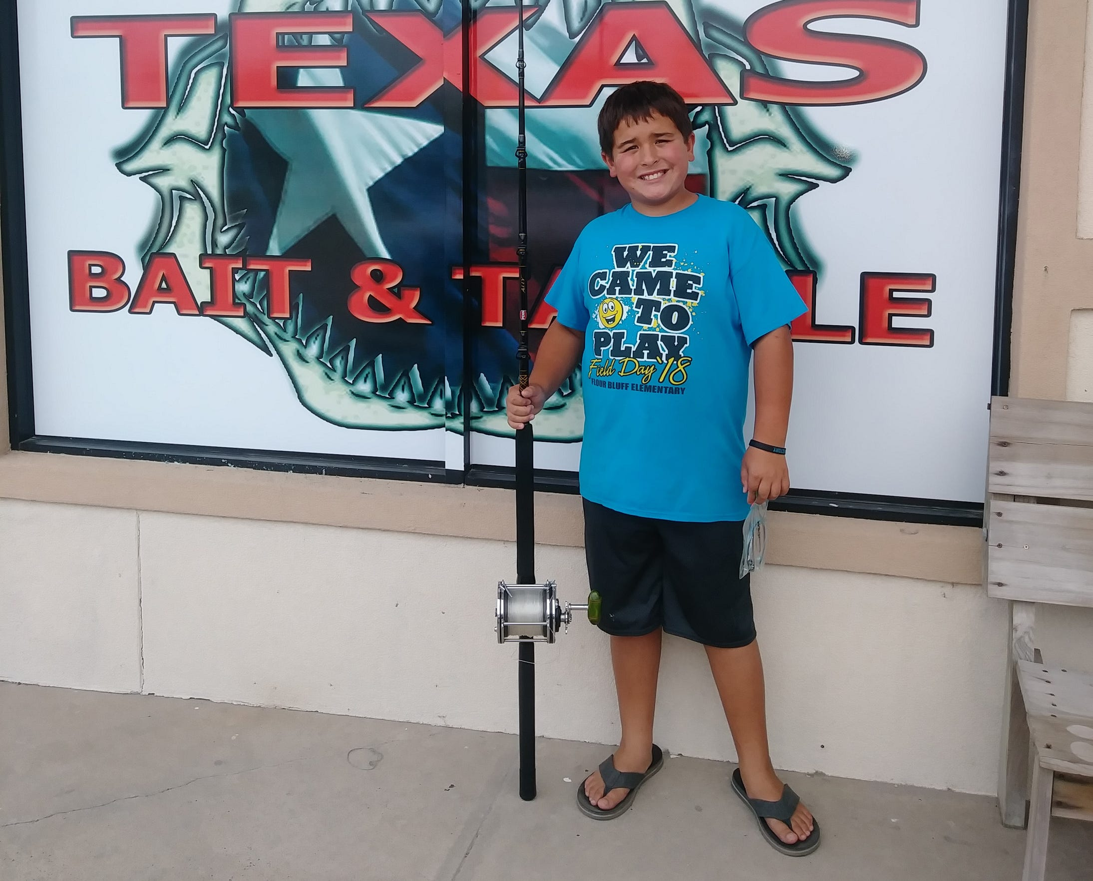 Jacob said he enjoys surf fishing the most, but also likes to fish offshore and from the jetties.