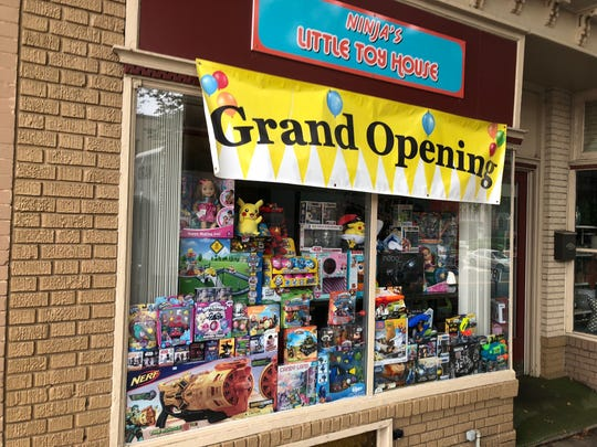 Ninja's Little Toy House at 7 Kings Highway East in Haddonfield carries a mix of 1990s-era collectibles, Pokémon, action figures and other popular toys.