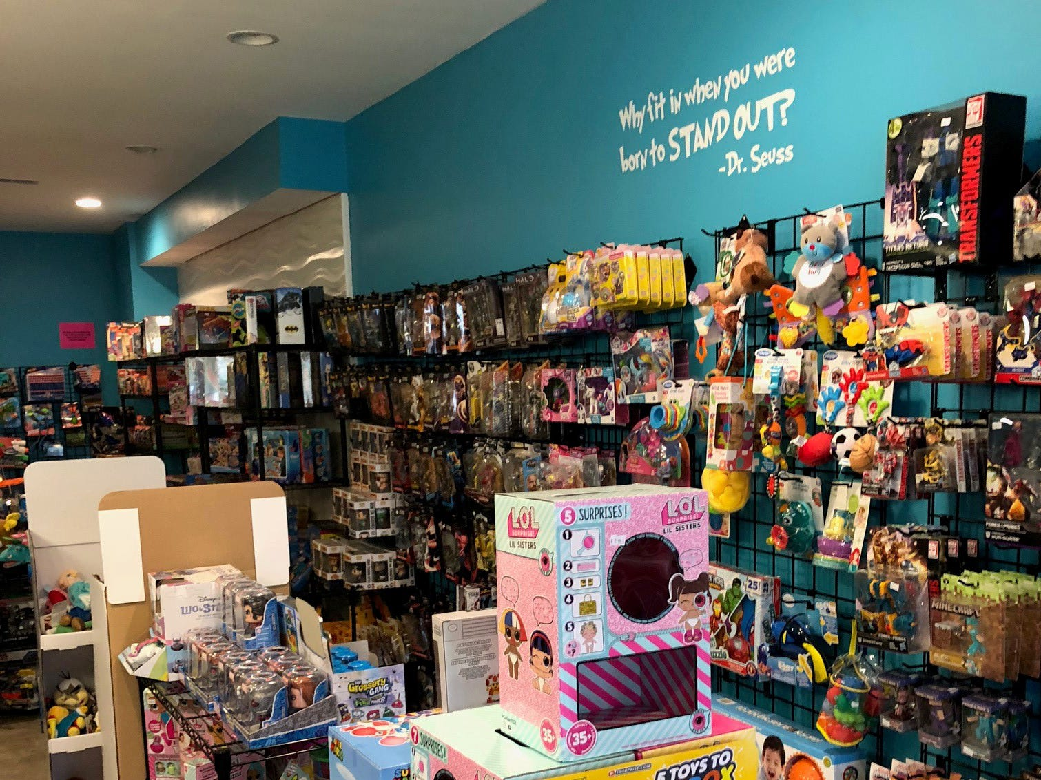 Ninja's Little Toy House sells toys for all ages.
