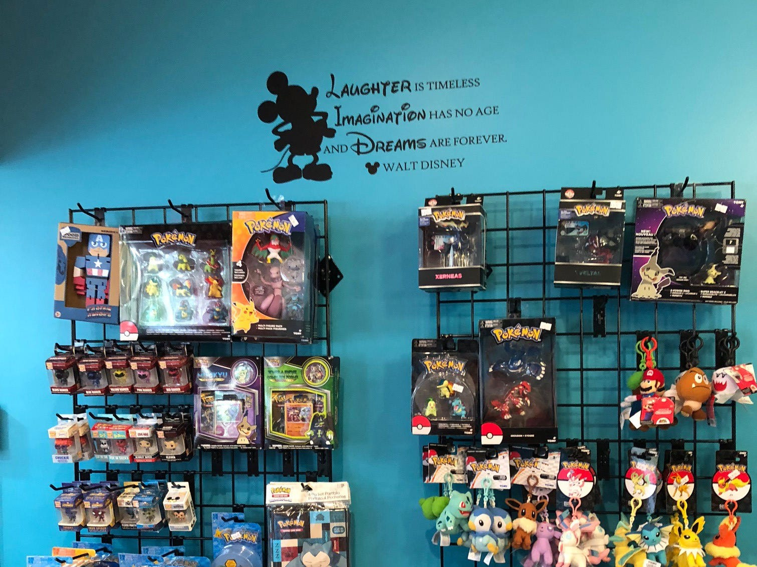 Ninja's Little Toy House, a new toy and collectibles store in Haddonfield, carries a wide range of Pokémon merchandise.
