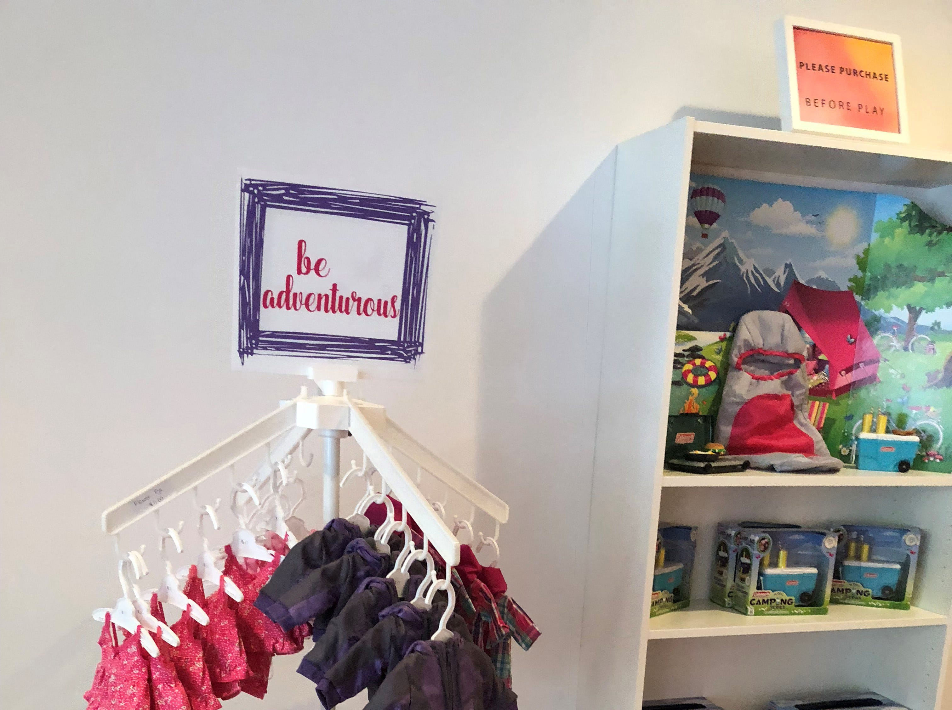 Dolls, clothing and accessories are sold at Stella & Toni in Haddonfield.