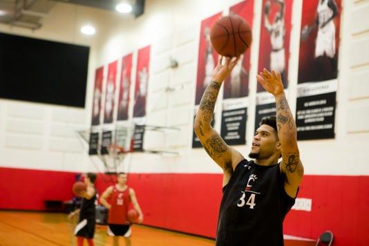 Uc Men S Basketball Practice