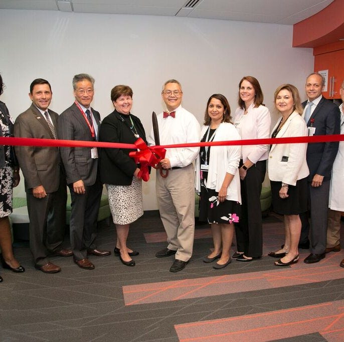 Heartbeats: Rutgers Health unveils new suite for pediatric surgical specialists