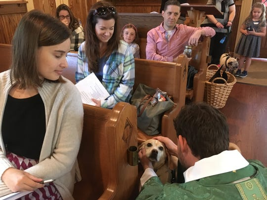 A Blessing of Animals ceremony will be held on Sunday, Sept.30,during both the 8and 10 a.m.services at Trinity Episcopal Church, 119 Forest Ave., Cranford.
