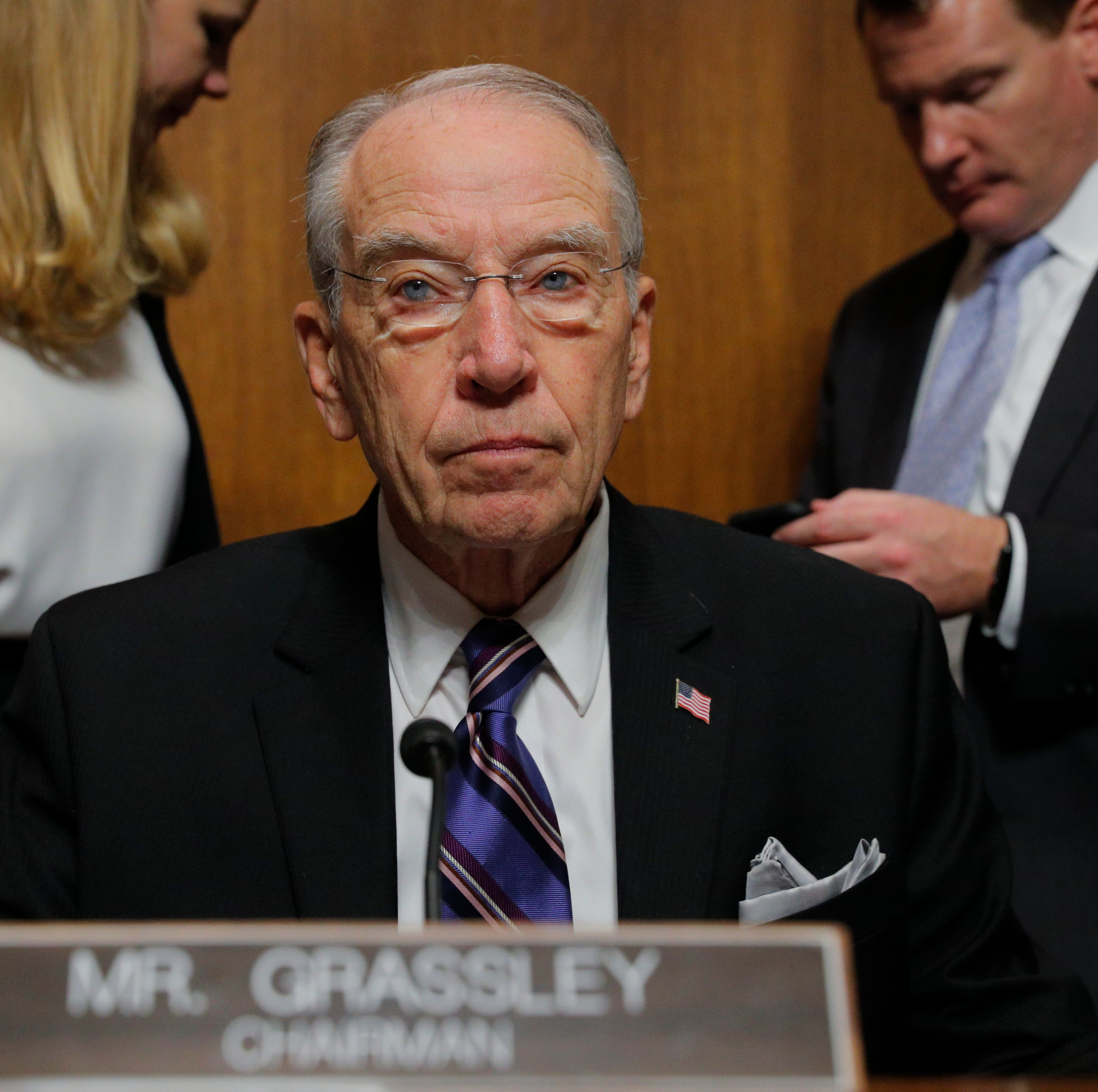 Chuck Grassley: Former Trump lawyer Michael Cohen is a 'liar' so how could he implicate the president?