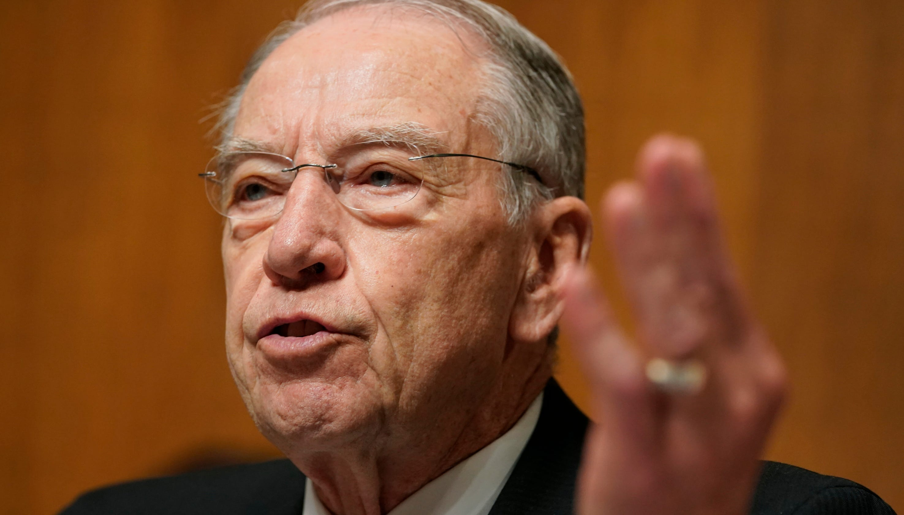 Sen. Chuck Grassley gives up Senate Judiciary chair to head Finance Committee
